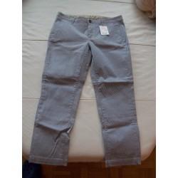 Mode / Pantalon 30 / White Siviglia