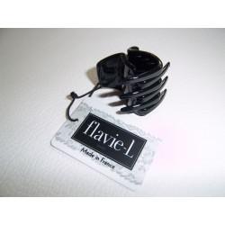 Mode / Pince cheveux 30 mm noire / Divers